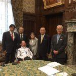 JPAと日本ALS協会で衆参両院議長に面会しALS患者の参考人招致問題に関する要望書を提出